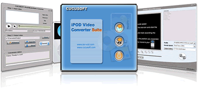 Cucusoft Video+DVD to iPod Converter Screenshots