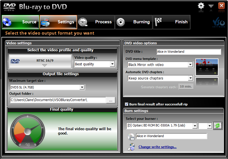 Vso bluray to dvd incl keygen only by the rain